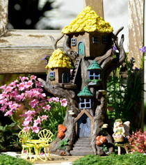 Yellow Flower Tree House - Solar