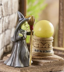 Oz Wicked Witch & LED Crystal Ball