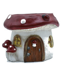 Mushroom Pot Fairy House
