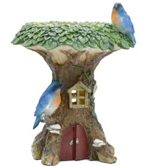 Bird Feeder Fairy House