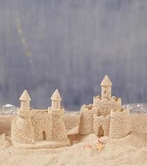 Deluxe Sandcastle Lrg  x1