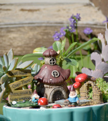 Mushroom Fairy Garden Kit S/8