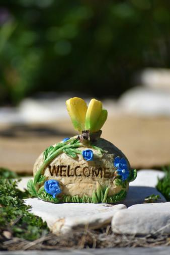 Welcome Rock Yellow
