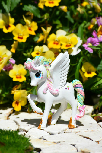 Rainbow Unicorn Belle