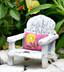 Porch Chair w/ Pink Pillow