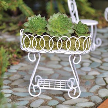 Miniature Fairy Garden Plant Stand