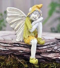 Miniature Fairy Garden Sleeping Boy Fairy