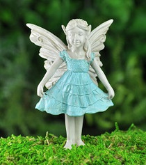 Miniature Fairy Garden Bluebell Girl Fairy
