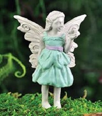 Miniature Fairy Garden Beryl Girl Fairy