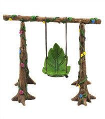 Fairy Garden Flower Swing