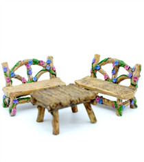 Woodland Flower Bistro Set