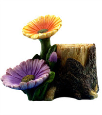 Garden Flower Stump