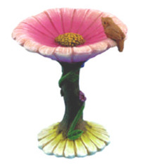 Fairy Flower Bird Bath