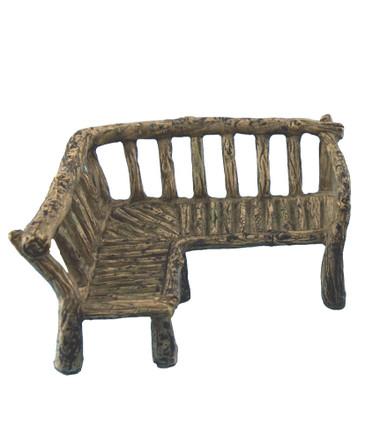 Woodland Corner Bench Seat