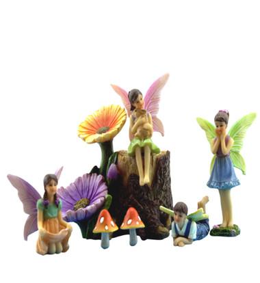 Flower Fairy Stump Kit