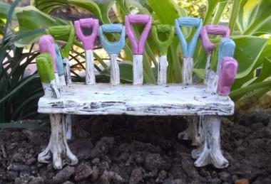Tool Garden Bench