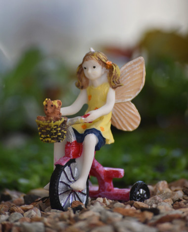 Miniature Fairy Garden Fairy | Miniature Fairy Garden Statue | Lizzy's Day Out II