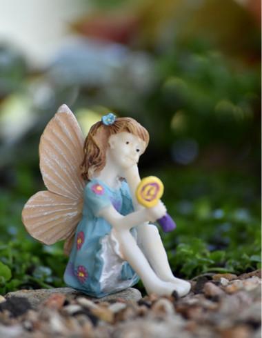 Miniature Fairy Garden Fairy | Miniature Fairy Garden Statue | Fairy Delaney II