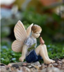 Miniature Fairy Garden Fairy | Miniature Fairy Garden Statue | Fairy Alex II