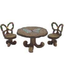 Miniature Fairy Garden Bistro| Miniature Fairy Garden Furniture | Butterfly Bistro