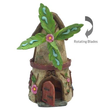 Miniature Fairy Garden House | Miniature Fairy Garden House | Windmill House w/Opening Door
