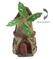 Miniature Fairy Garden House | Miniature Fairy Garden House | Windmill House w/Opening Door