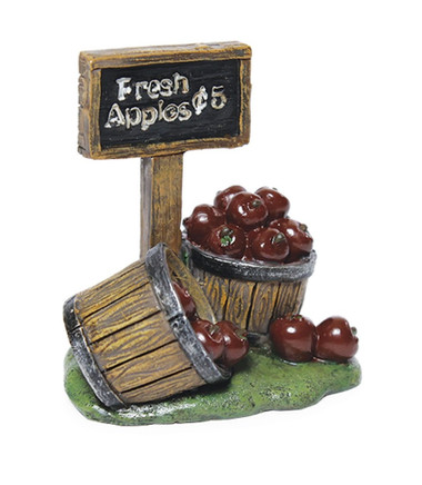 Miniature Fairy Garden Apples | Miniature Fairy Garden Fruit | Apple Baskets