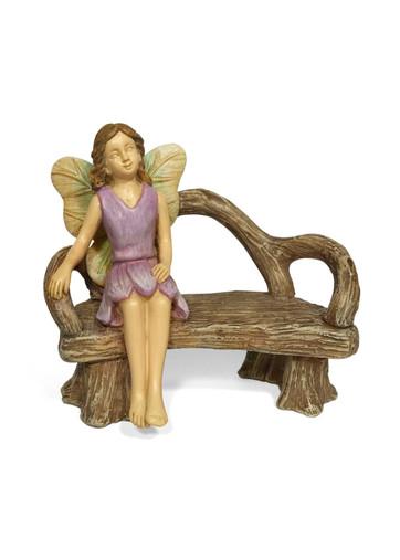 Miniature Fairy Garden Bench Seat | Miniature Fairy Garden Furniture | A Quiet Rest w/ Bench