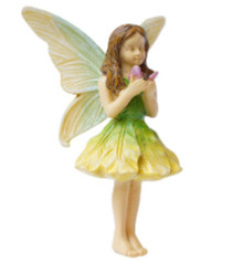 Miniature Fairy Garden Fairy | Miniature Fairy Garden Statue | Fairy With Butterfly