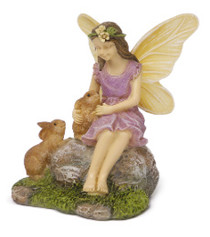 Miniature Fairy Garden Fairy | Miniature Fairy Garden Statue | Summer Friends