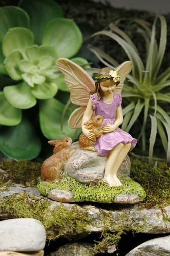 Miniature Fairy Garden Fairy | Miniature Fairy Garden Statue | Summer Friends
