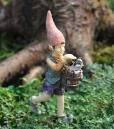 Miniature Fairy Garden Gnome   Miniature Fairy Garden Gnomes   Faelyn The Elf
