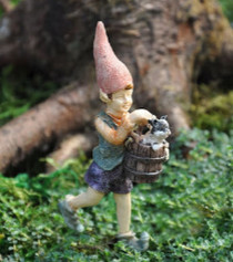 Miniature Fairy Garden Gnome | Miniature Fairy Garden Gnomes | Faelyn The Elf