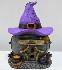 Halloween Witch's Hat Cottage
