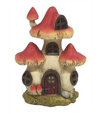 Mini Mushroom House - LED
