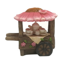 Flower Tea Cart