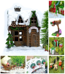 Woodland Christmas Fairy Kit