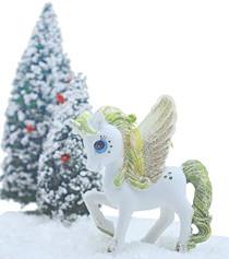 Christmas Pegasus - Apple Green