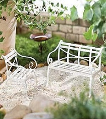 Willow Bench Seat and Chair