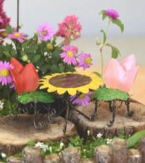 Gathered Rose Bistro Set