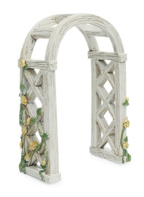 Miniature Fairy Garden English Rose Arbor