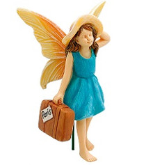 Miniature Fairy Garden Fairy | Miniature Fairy Garden Statue | The Traveler