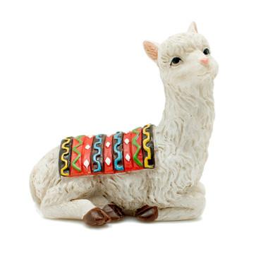 Miniature Fairy Garden Bench Seat | Miniature Fairy Garden Furniture | Sitting Llama