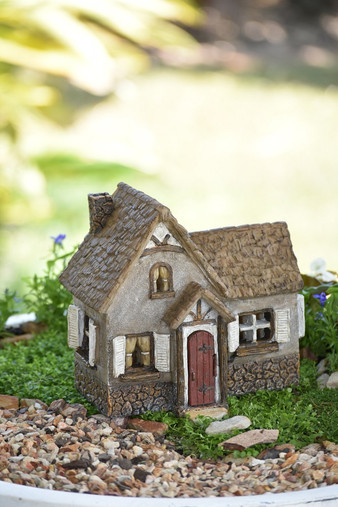 Miniature Fairy Garden House | Miniature Fairy Garden House | Tudor Fairy House