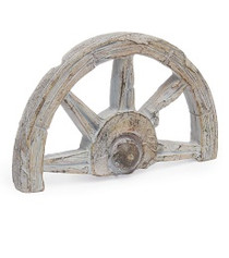 Miniature Fairy Garden Fairy - Miniature Fairy Garden Statue - Wagon Wheel