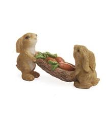 Miniature Fairy Garden Fairy - Miniature Fairy Garden Statue - Carrot Feast