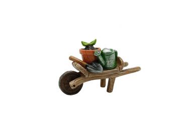 Miniature Fairy Garden -  Fairy Gardening Australia - Garden Wheelbarrow