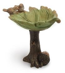 Miniature Fairy Garden -  Fairy Gardening Australia - Leaf Bird Bath