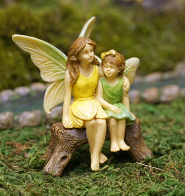 Miniature Fairy Garden Fairy | Miniature Fairy Garden Statue |  Fairies Forever Bench