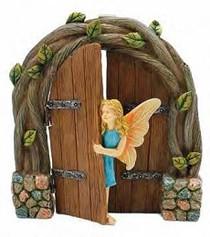 Miniature Fairy Garden Fairy | Miniature Fairy Garden Statue |  Peek-A-Boo Fairy